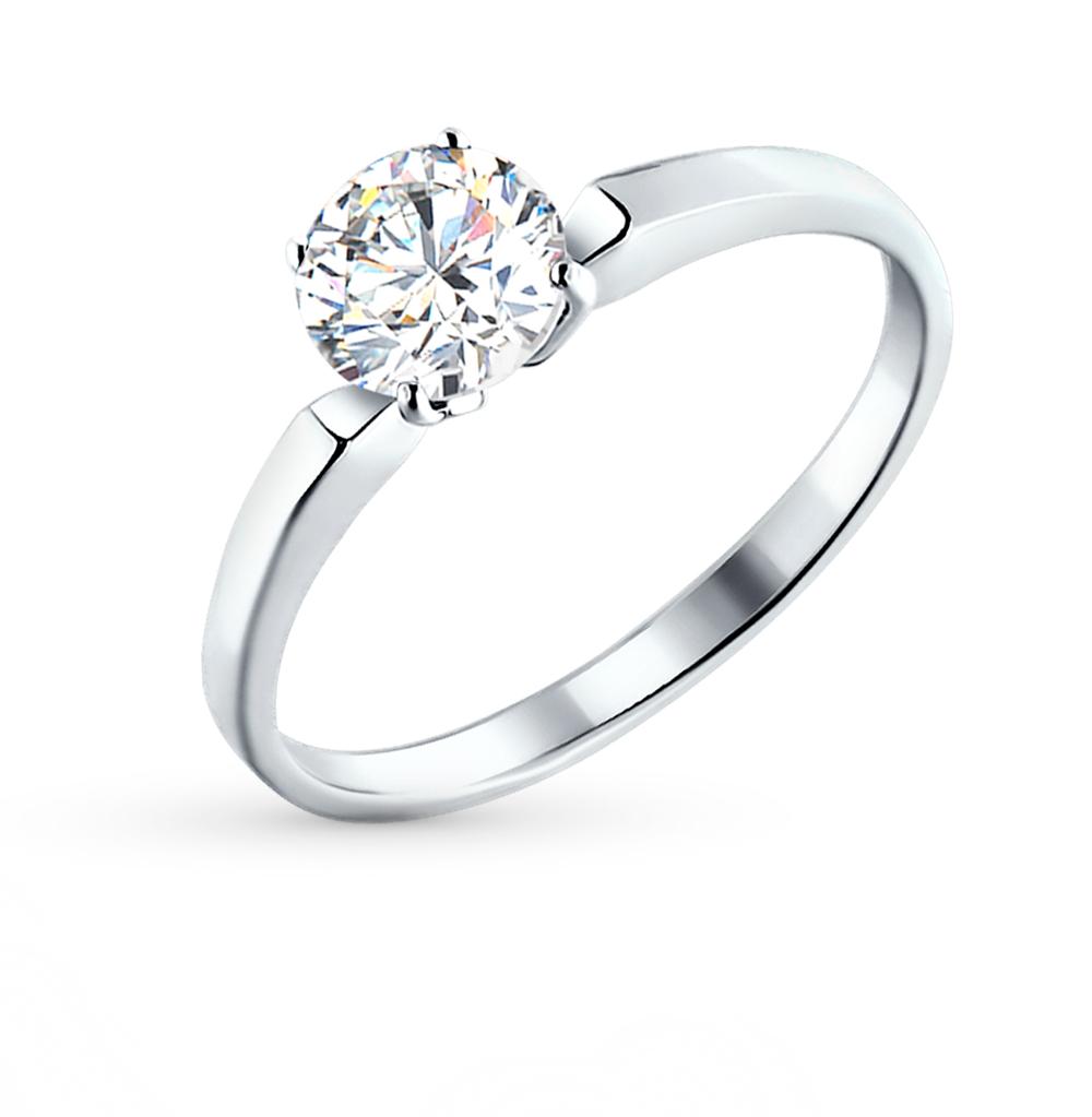 серебряное кольцо с фианитами SOKOLOV 94010279