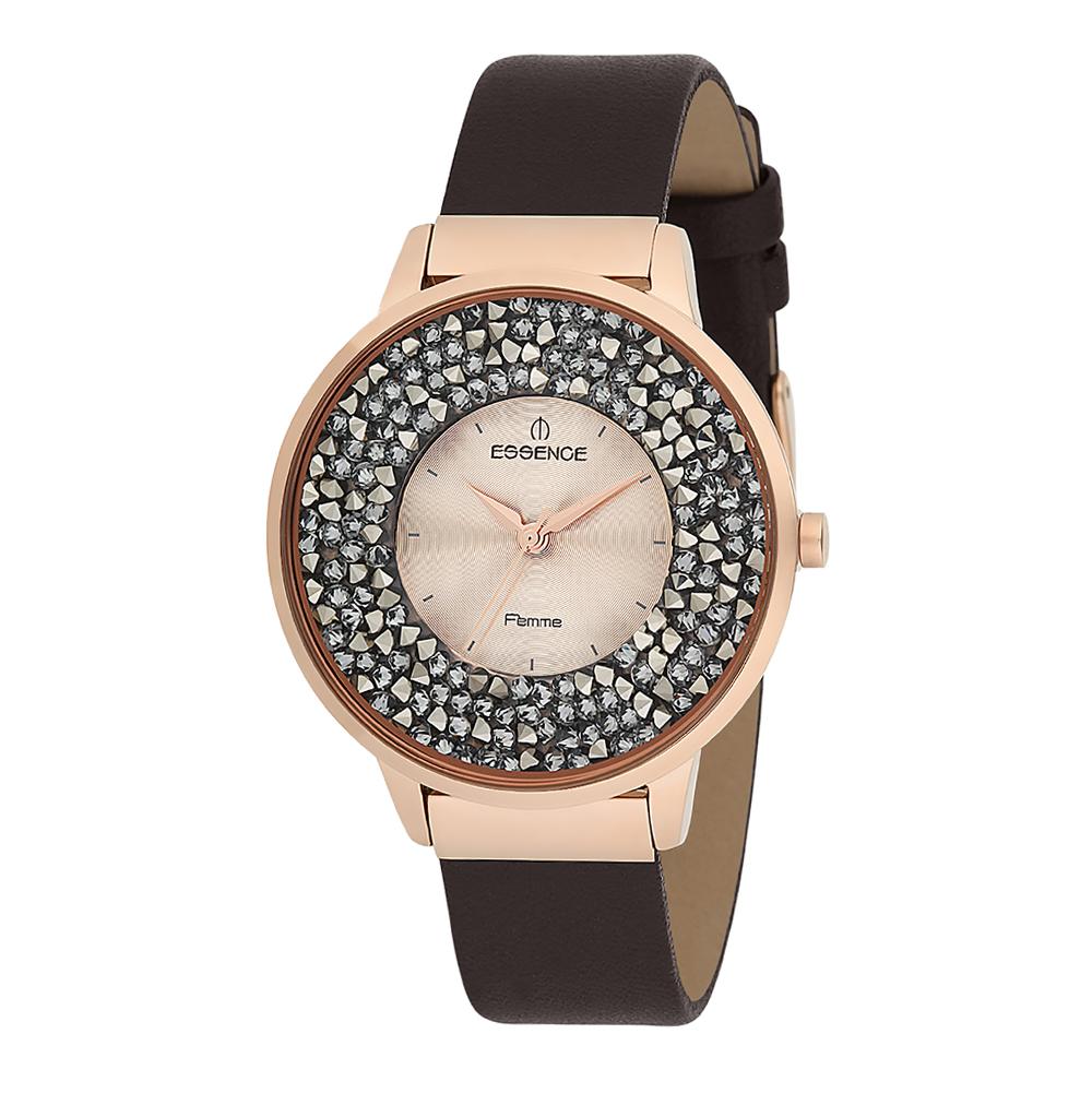 Женские часы D908.412 на кожаном ремешке с минеральным стеклом в Санкт-Петербурге