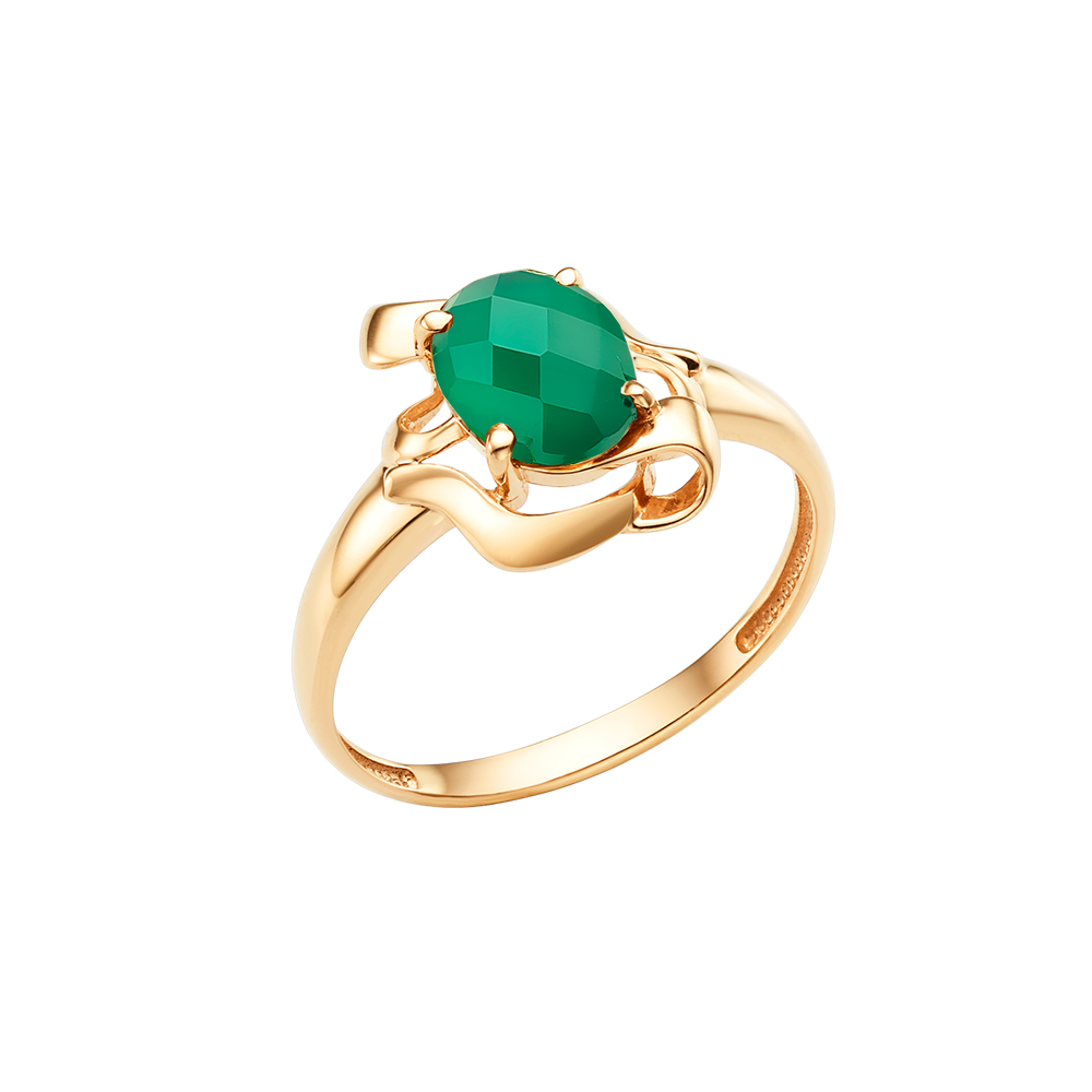 Фото «Золотое кольцо с ониксом»