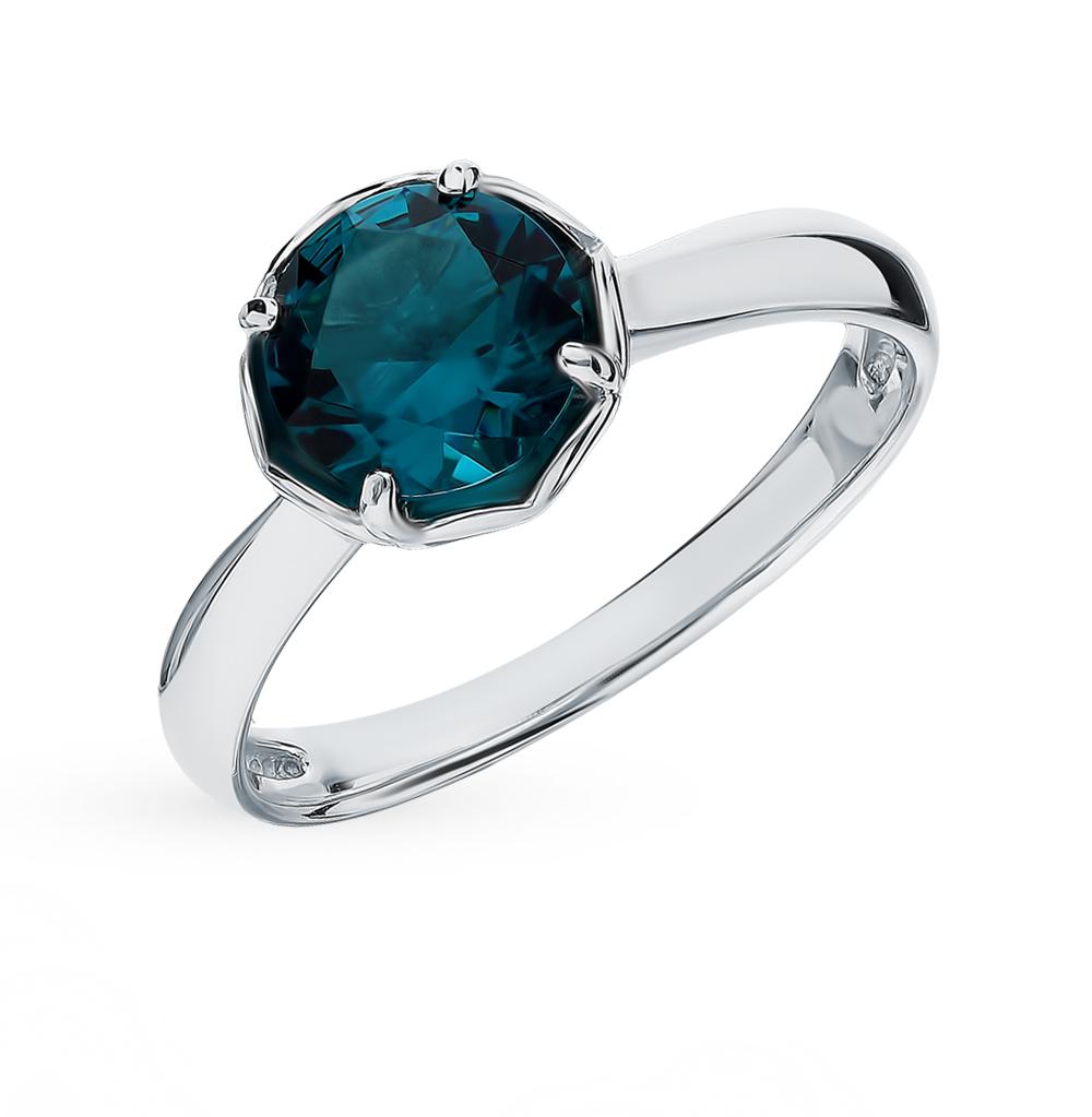 Серебряное кольцо с топазом в Екатеринбурге