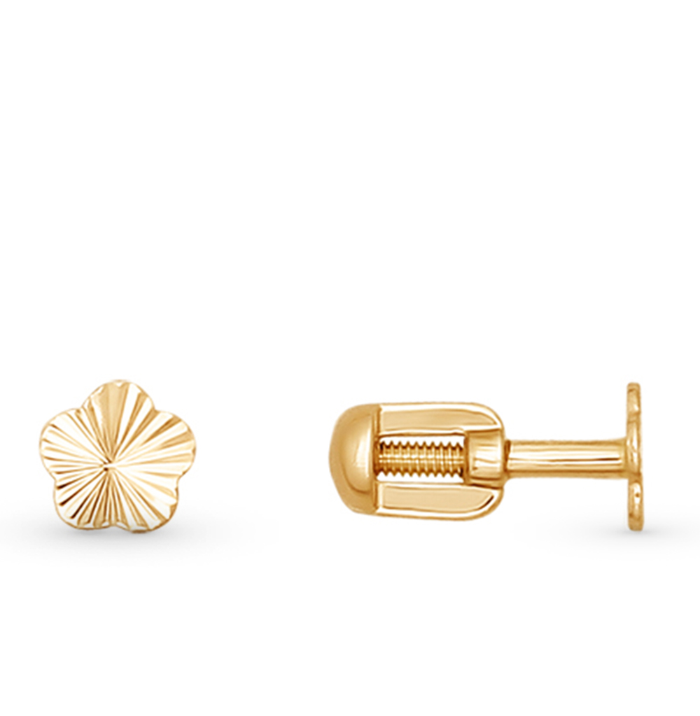 золотые серьги SOKOLOV 026418*