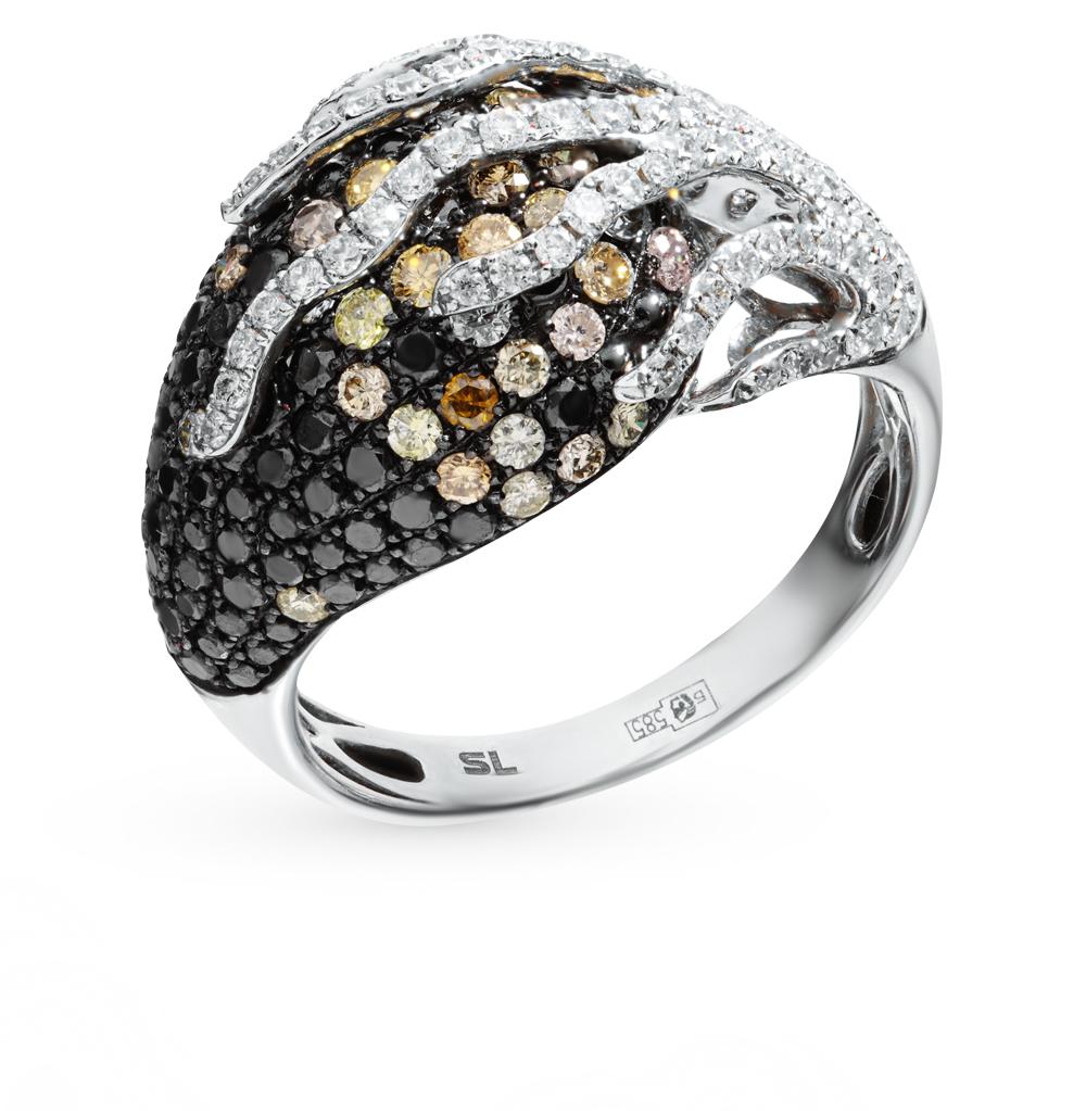 Золотое кольцо с бриллиантами в Екатеринбурге