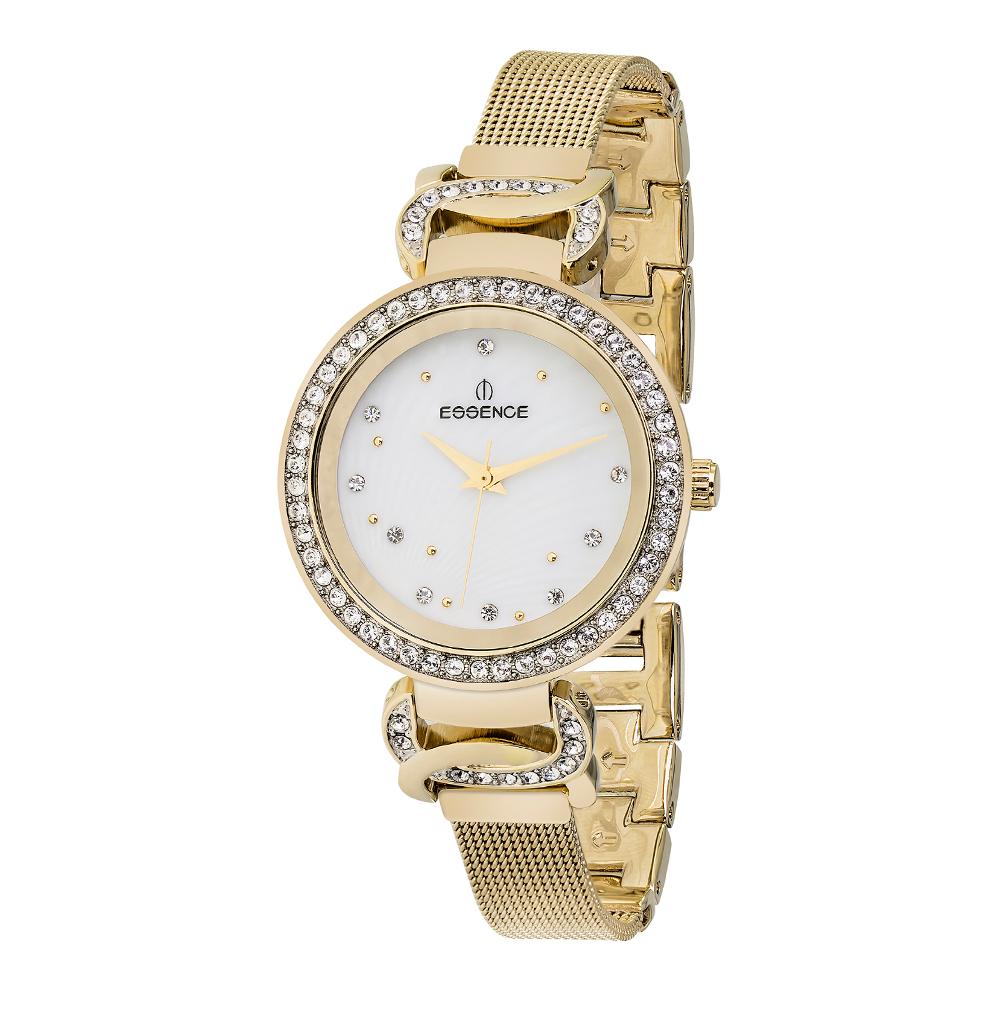 Фото «Женские часы D937.120 на стальном браслете с IP покрытием с минеральным стеклом»