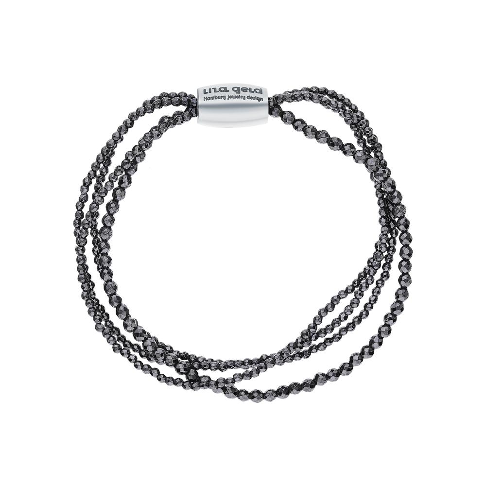 Фото «Кожа браслет с серебром»