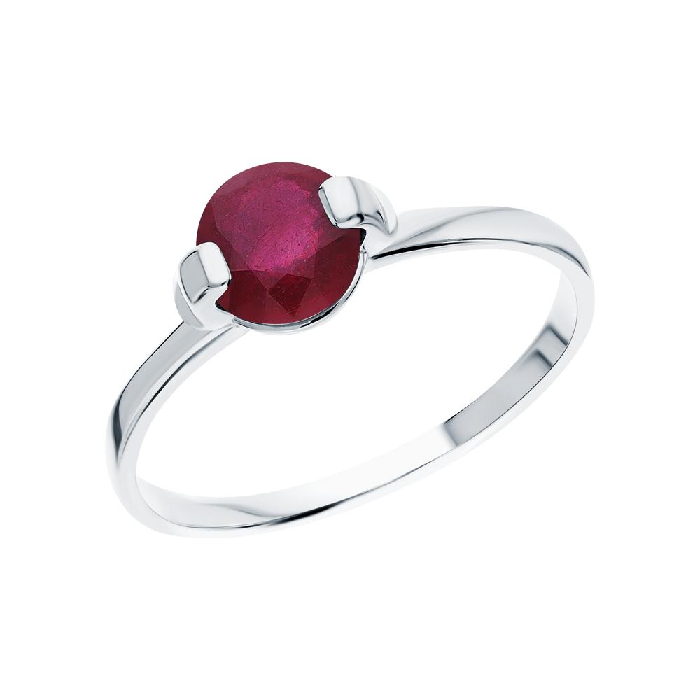 Серебряное кольцо с рубинами в Екатеринбурге