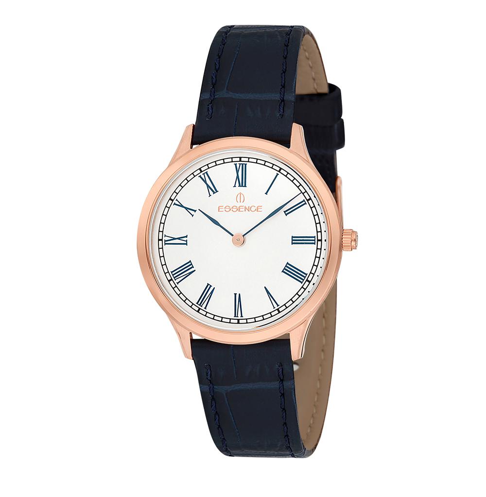 Фото «Женские часы ES6402FE.439 на кожаном ремешке с минеральным стеклом»