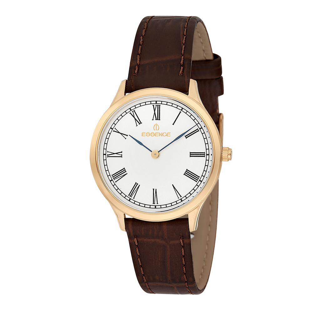 Женские часы ES6402FE.132 на кожаном ремешке с минеральным стеклом