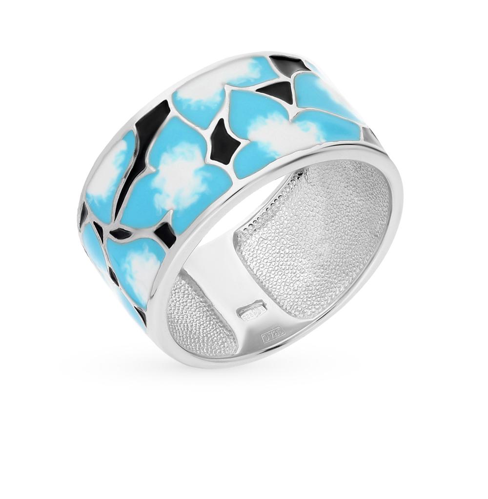 Фото «серебряное кольцо с эмалью»