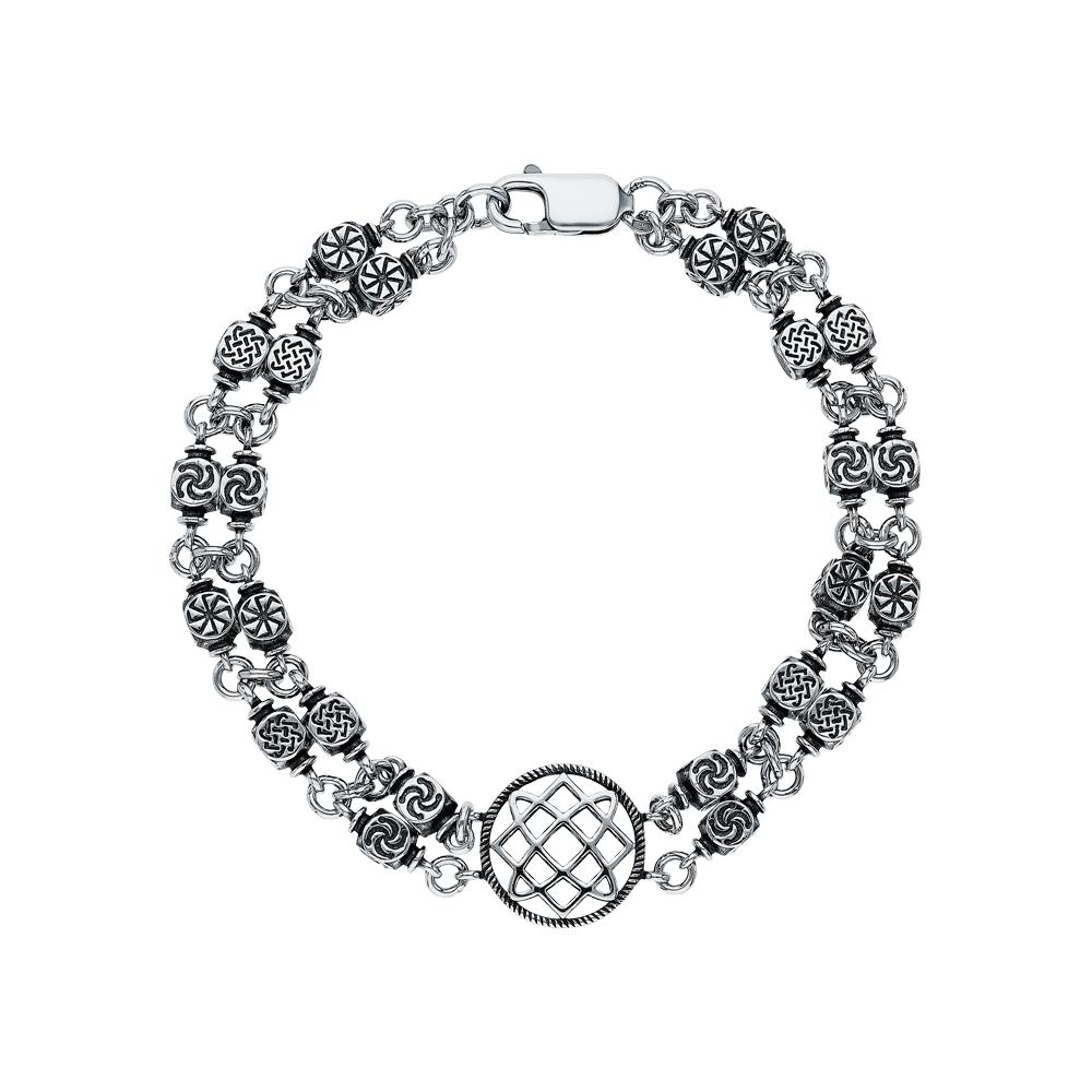 Фото «Славянский серебряный браслет»