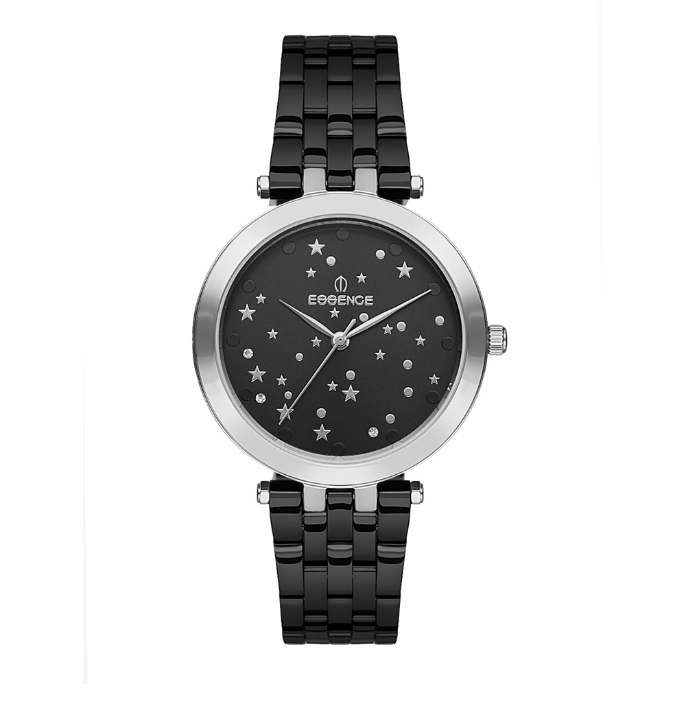 Фото «Женские  кварцевые часы ES6499FE.366 на стальном браслете с минеральным стеклом»