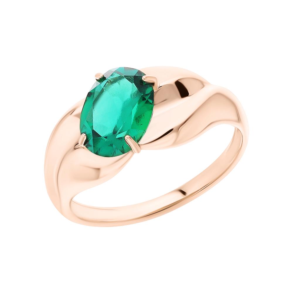 Золотое кольцо с изумрудом в Санкт-Петербурге