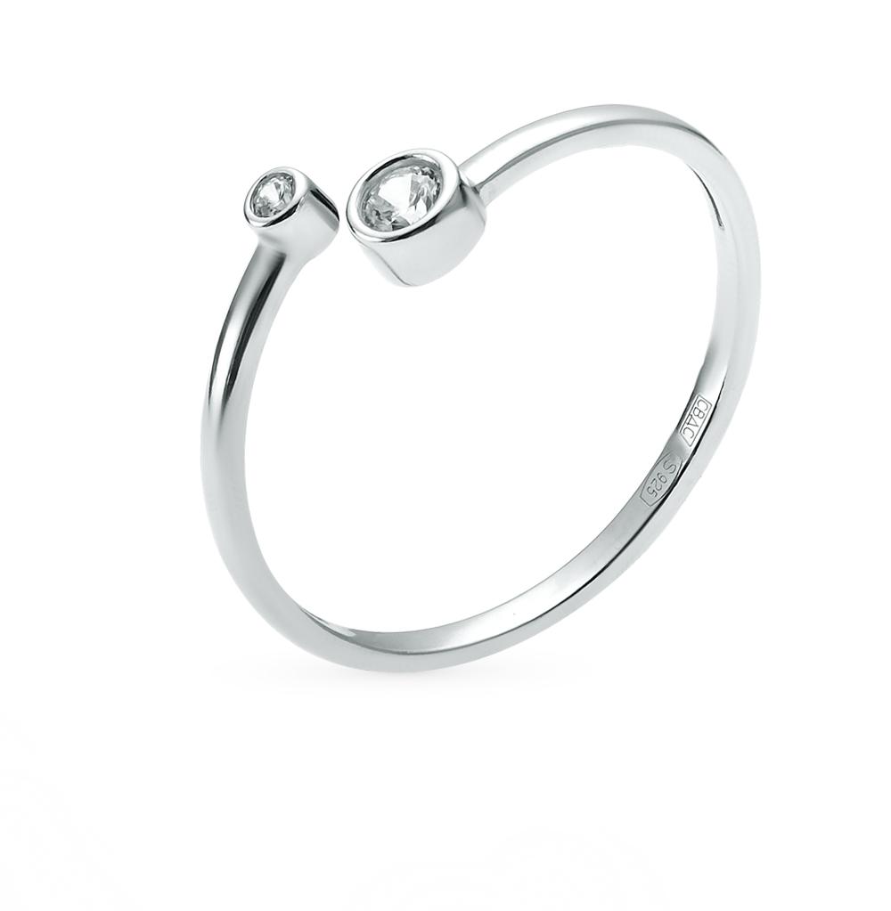 Серебряное кольцо с фианитами SOKOLOV 94011463 в Санкт-Петербурге