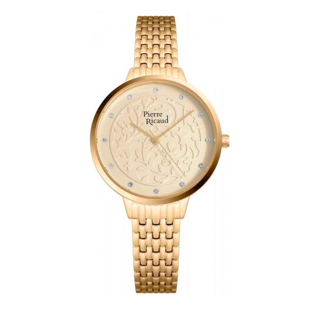 Женские часы P21065.1141Q на стальном браслете сIPпокрытием с минеральным стеклом