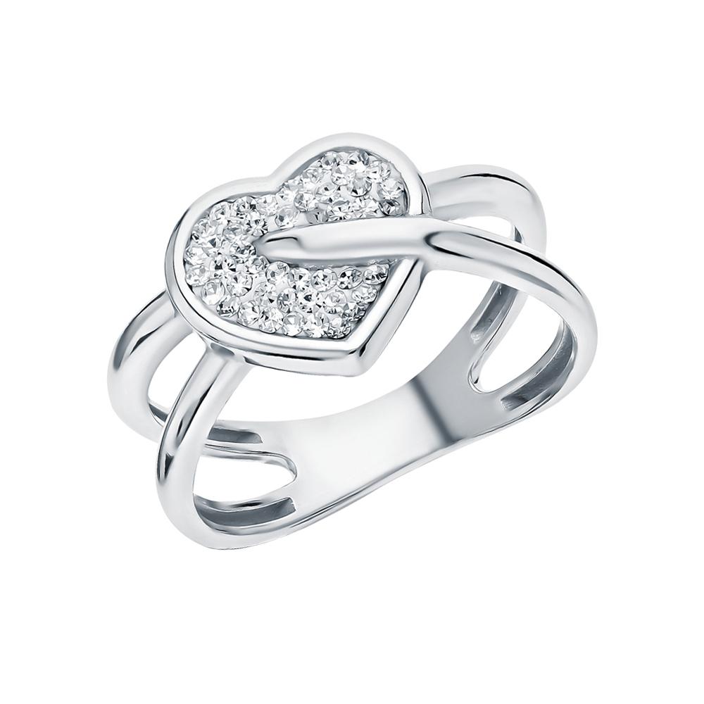 Фото «Серебряное кольцо с ювелирными стёклами»