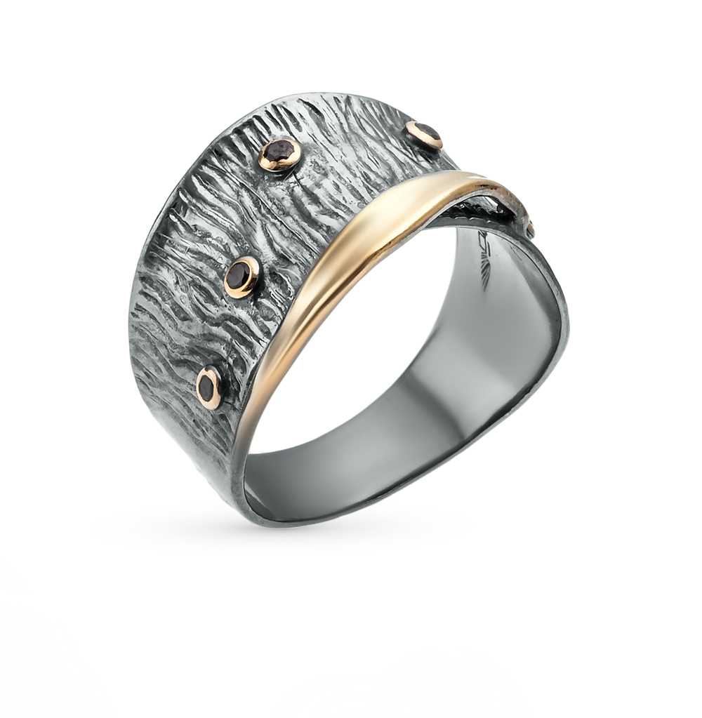 Фото «кольцо из серебра с фианитами»