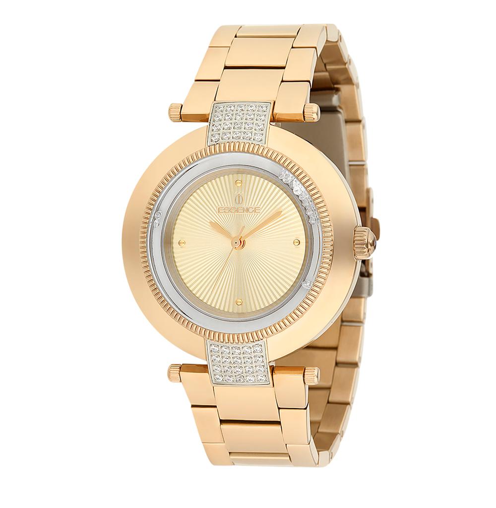 Фото «Женские часы ES6386FE.110 на стальном браслете с PVD покрытием с минеральным стеклом»