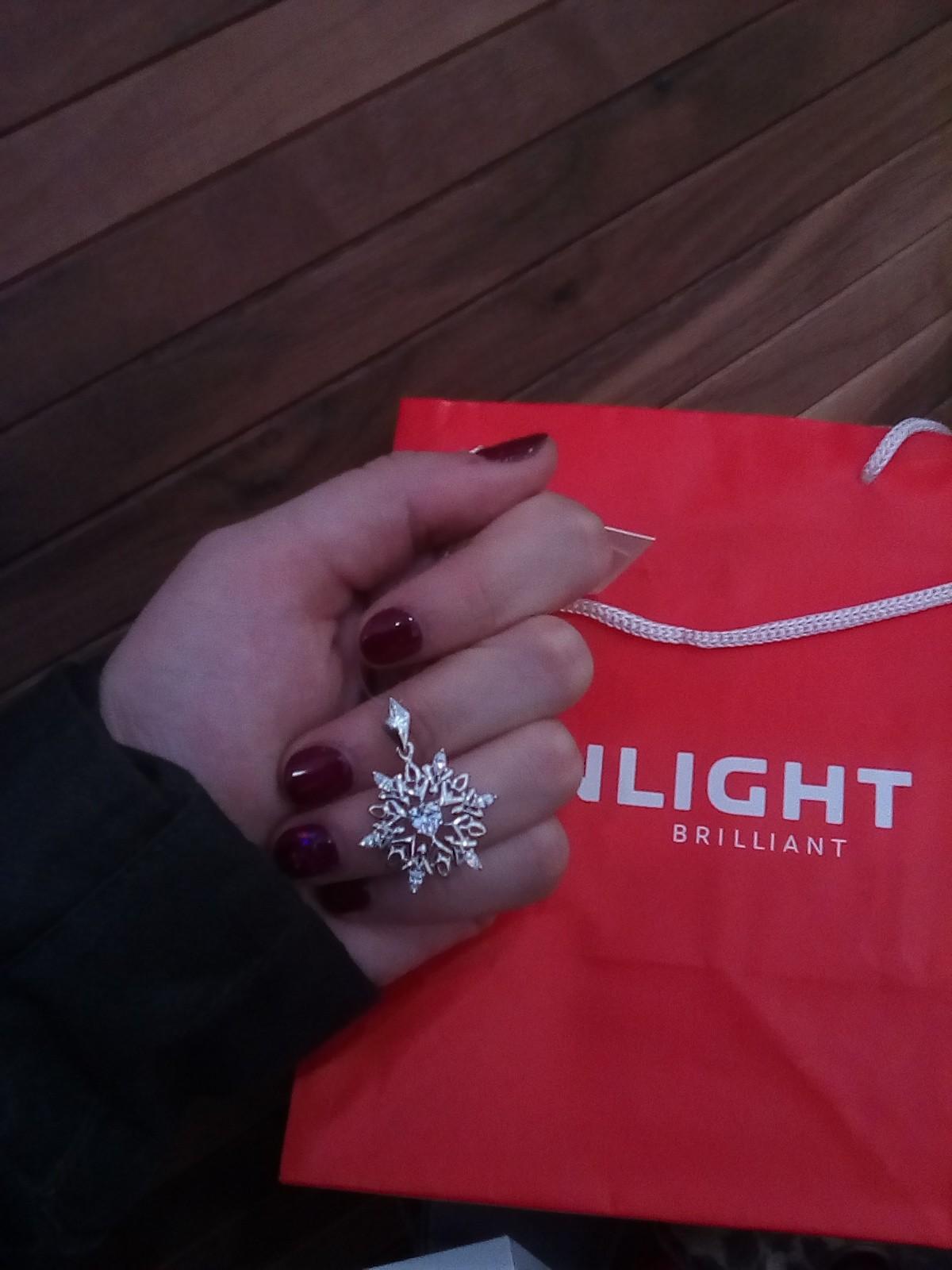 Купила снежинку в подарок