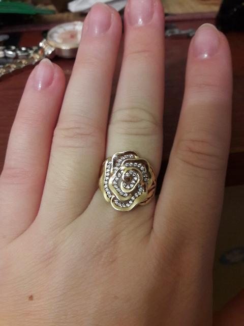 Модное молодежное кольцо