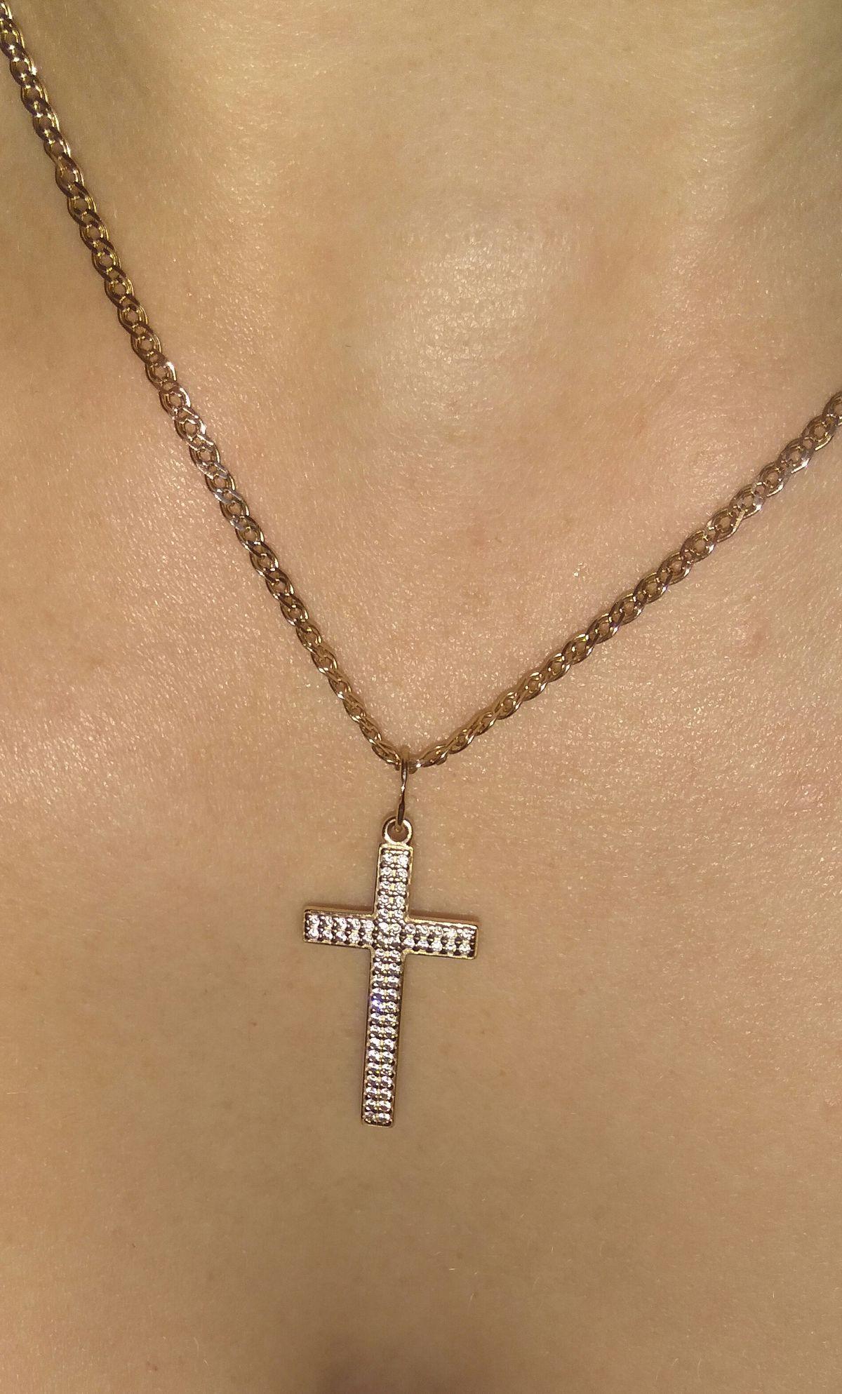 Красивый крестик!