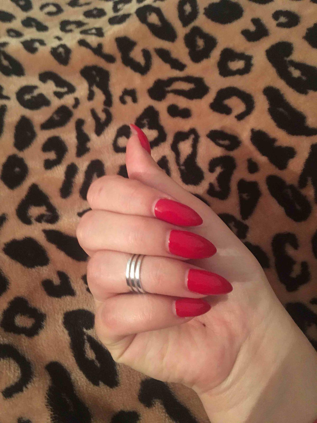 Прекрасное кольцо на фалангу