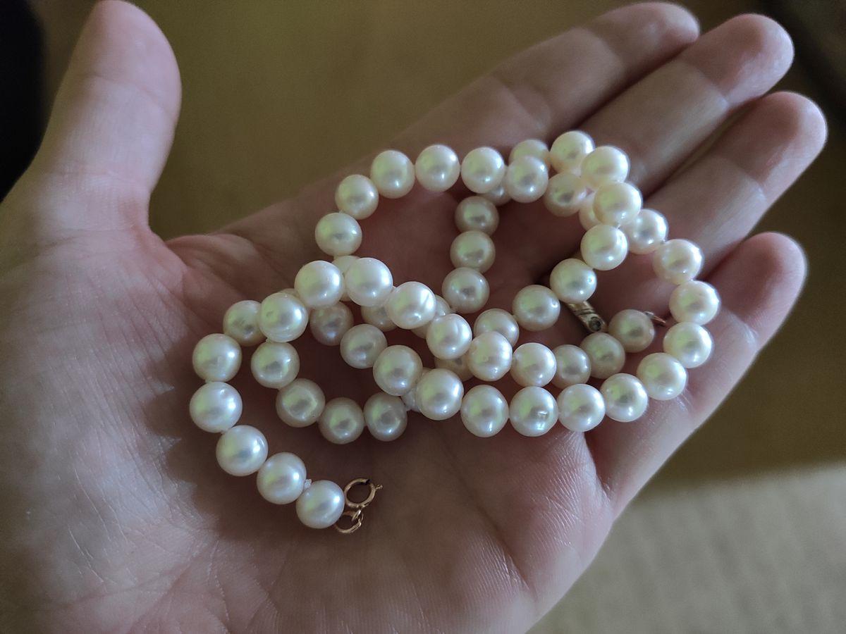 Ожерелье жемчужное