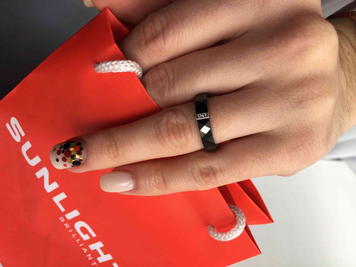 Керамическое кольцо!!!!