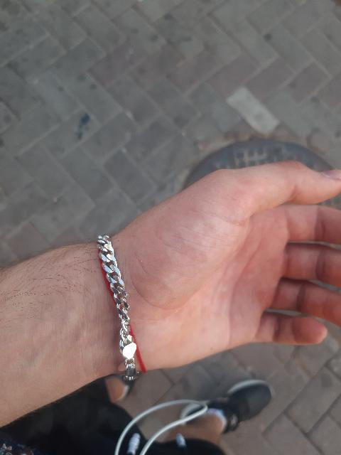 Браслет из серебра