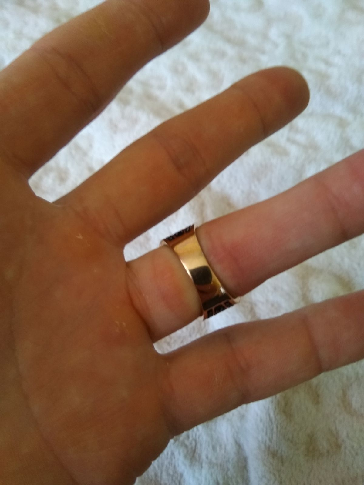 Кольцо для мужчин. сталь.