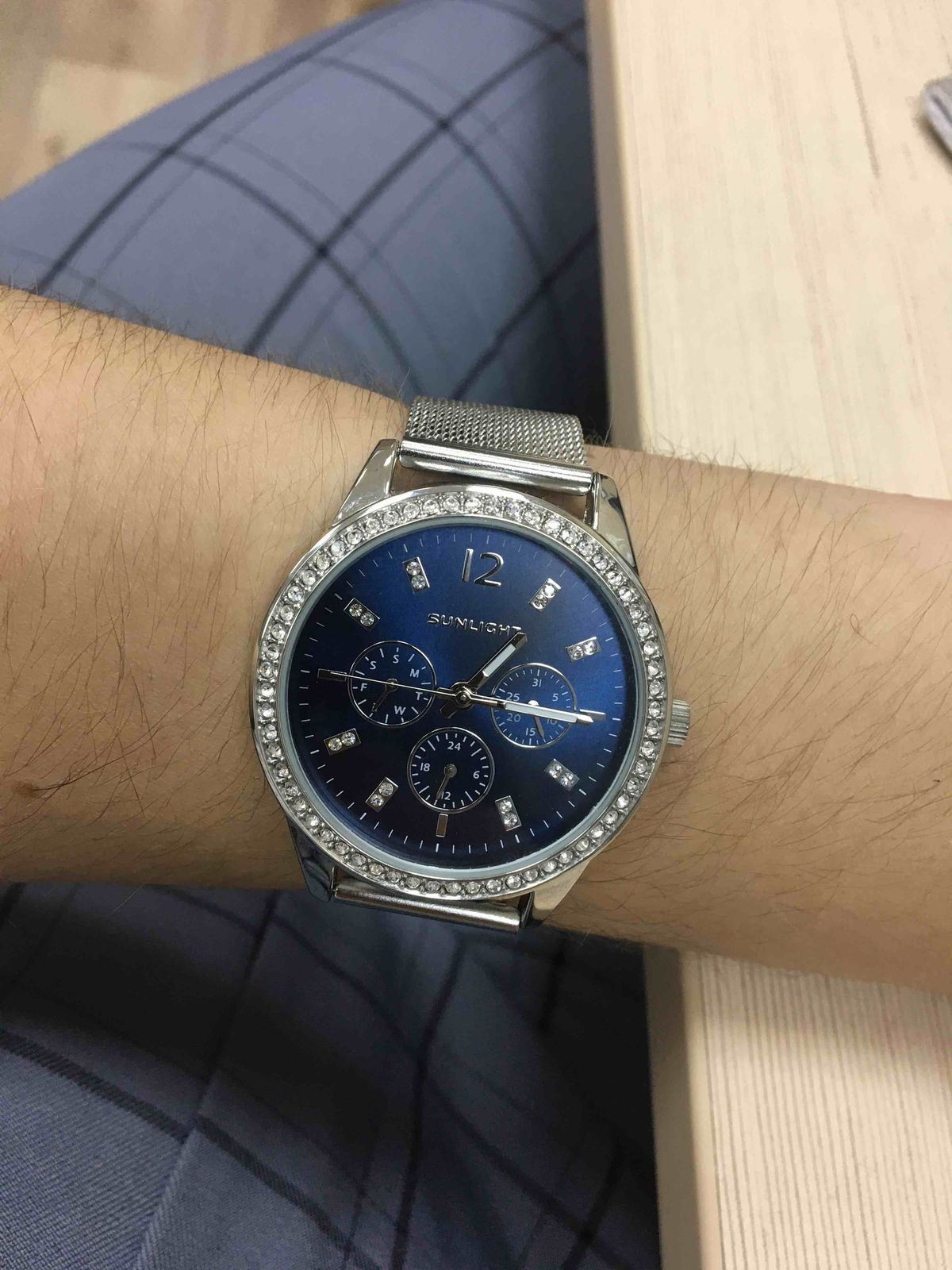 Покупала часы наручные Sunlight
