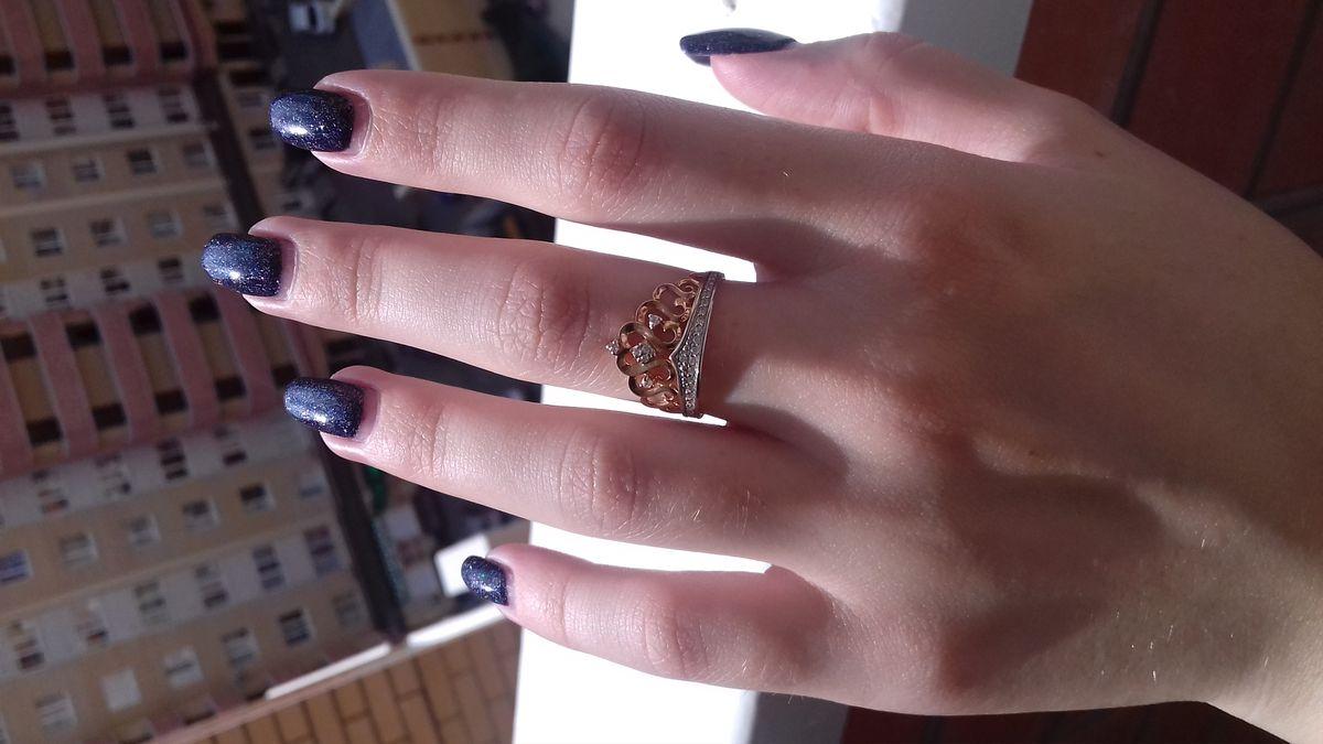 Кольцо корона.