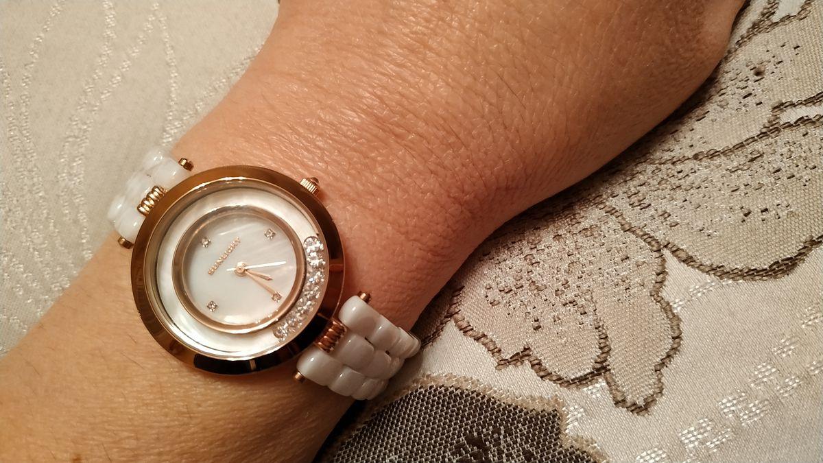 Часики с керамическим браслетом
