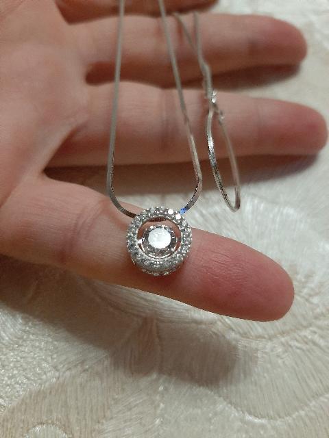 Гладкая серебряная цепочка
