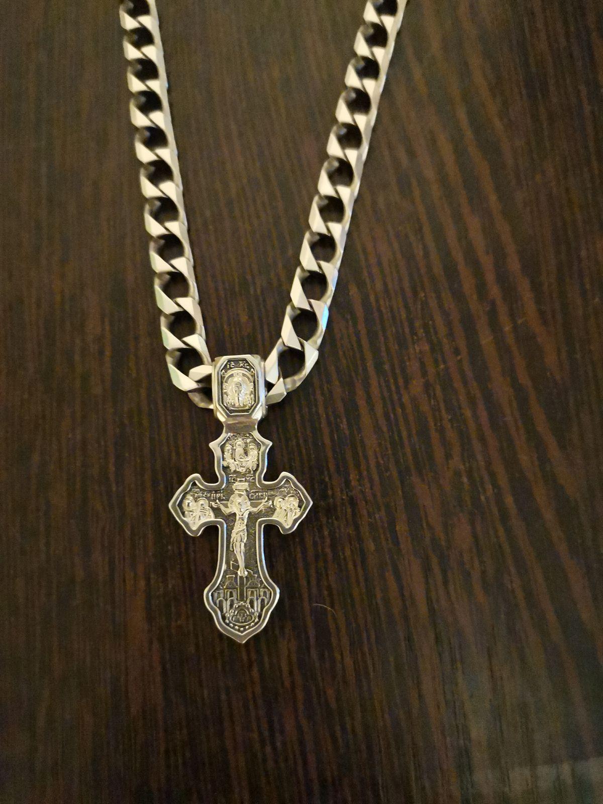 Отличный крест, муж доволен.