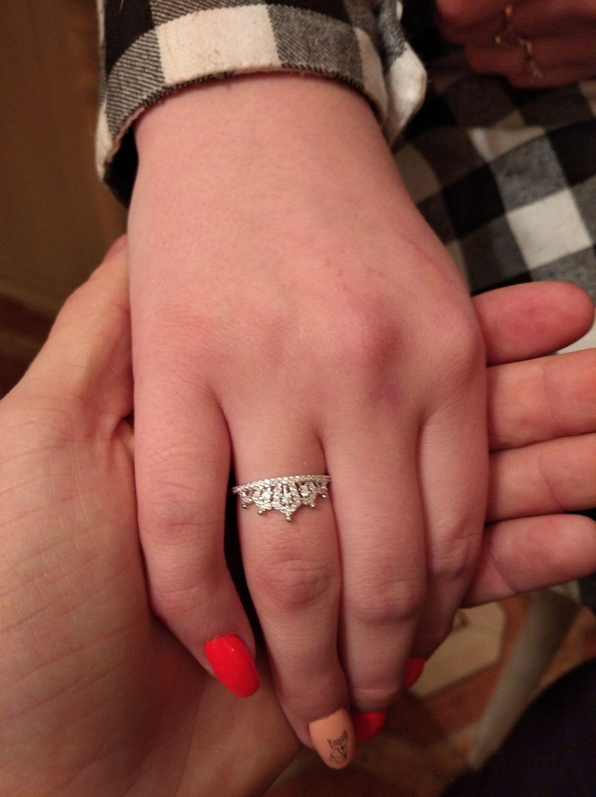 Очень понравилось кольцо.