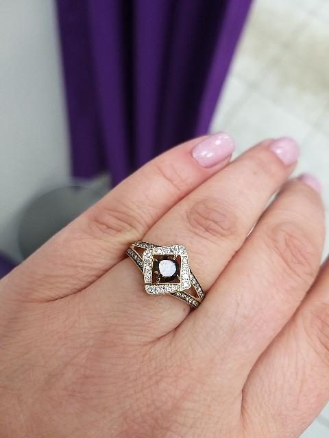 Необычное, стильное кольцо!