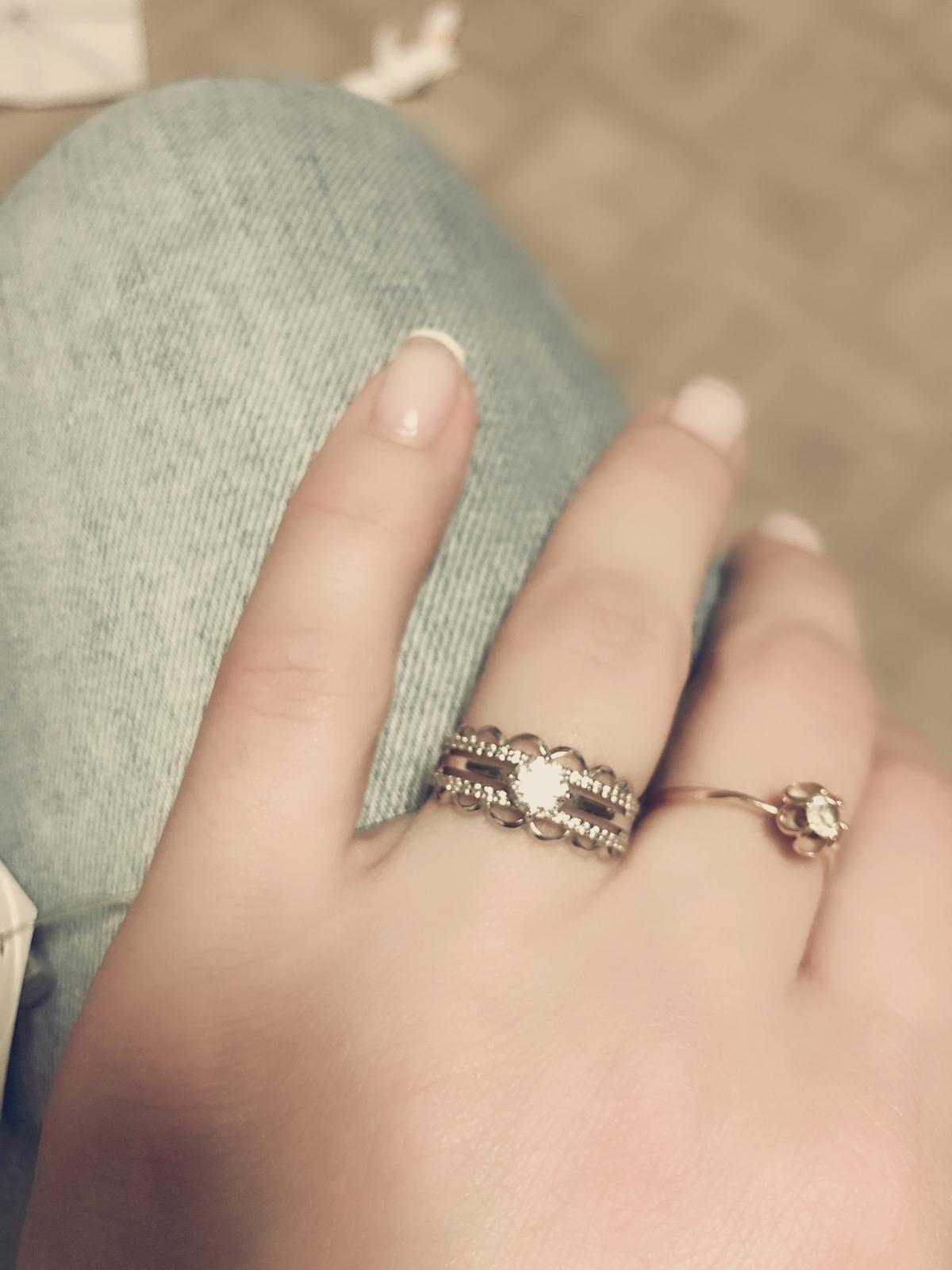 Кольцо серебряное 17 р