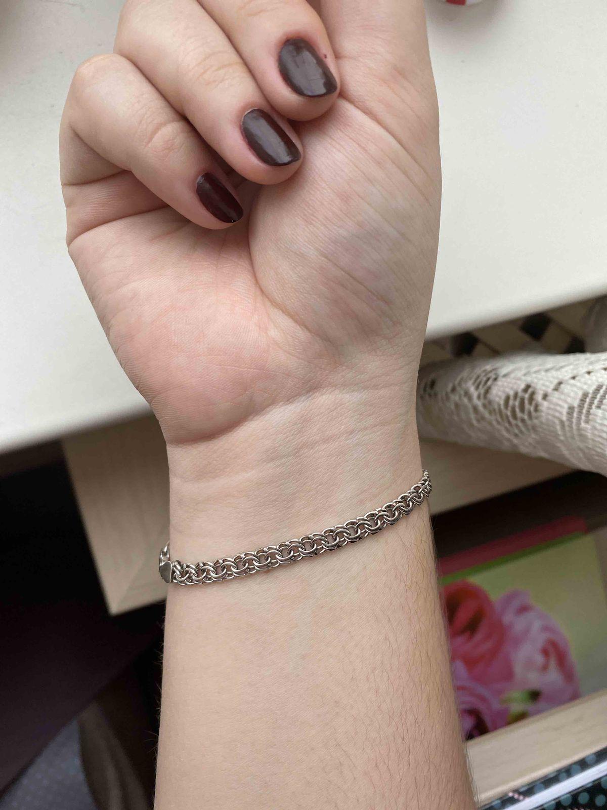 Брутально-элегантный браслет, искала такой давно!