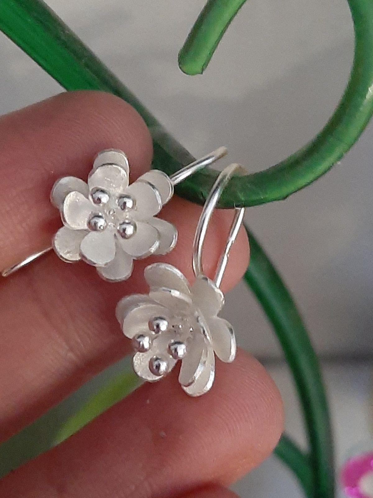 Серебристые цветы