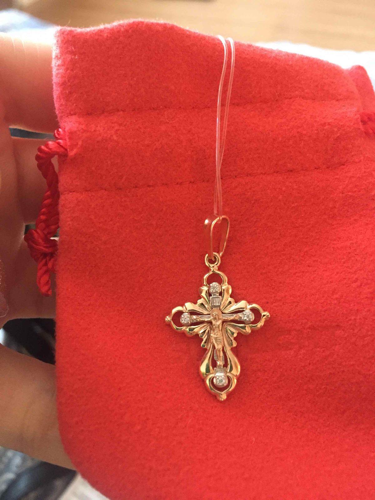 Очень красивый крестик