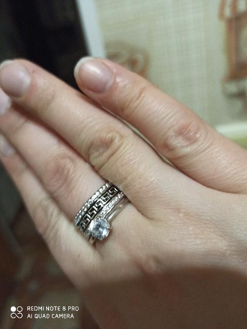 Кольцо просто супер.
