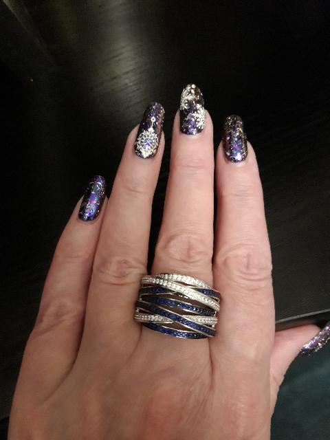 Обьемное кольцо