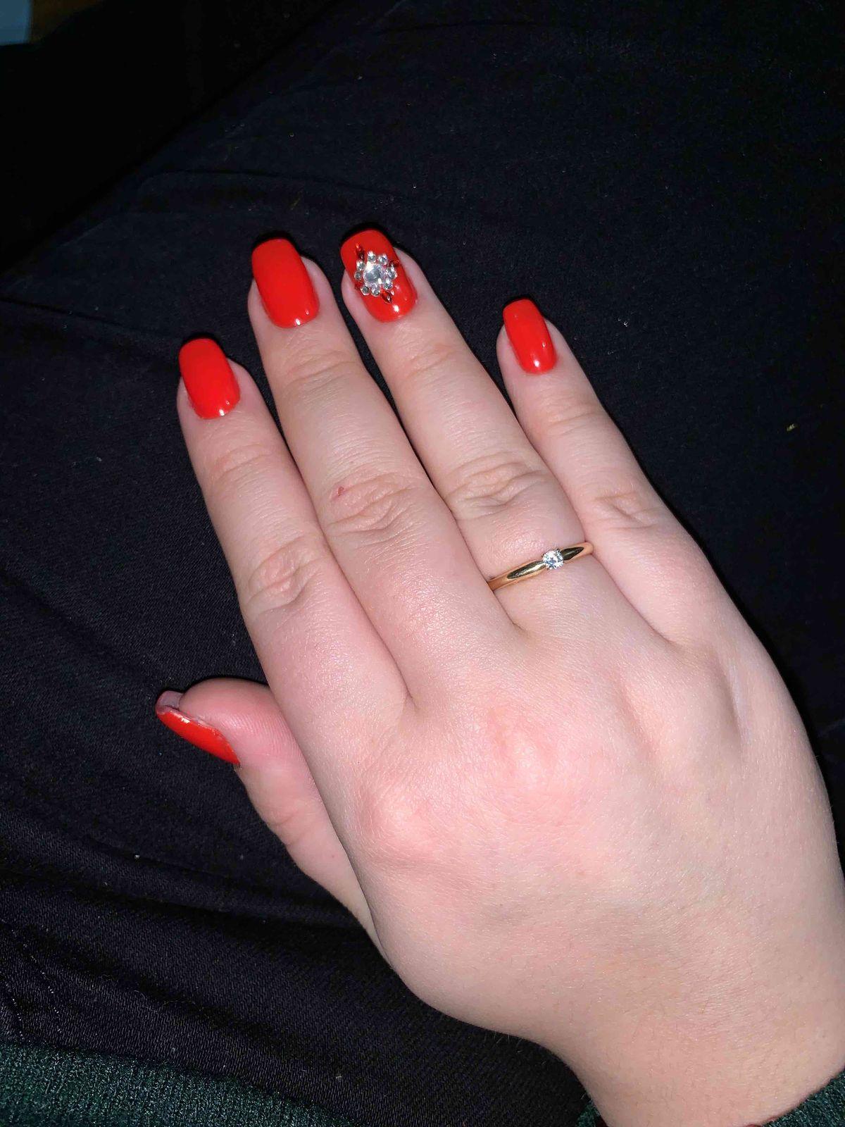 Очень нежное кольцо 🥰