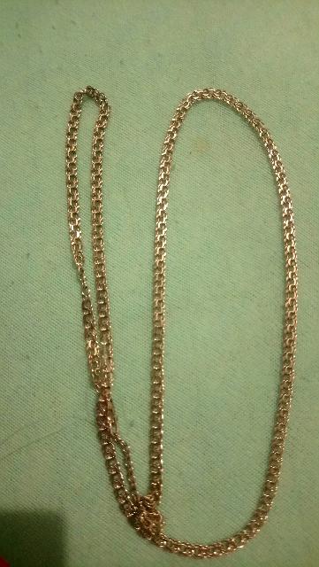 Мужская золотая цепочка