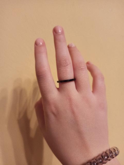 Купила кольцо ребёнку