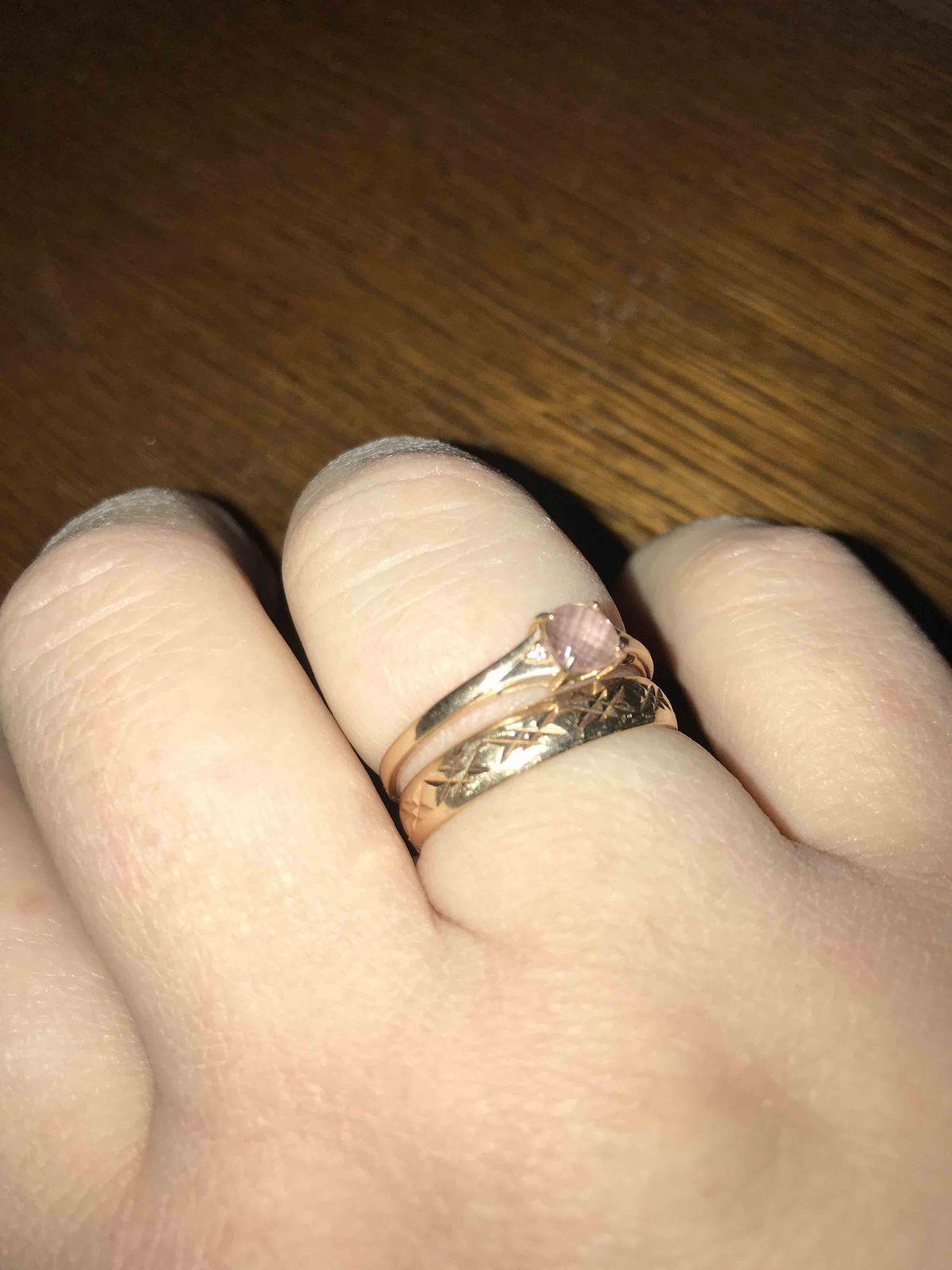 Золотое, обручальное кольцо