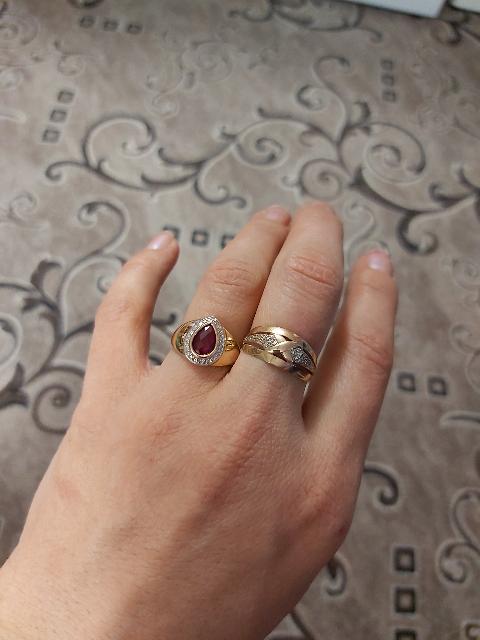 Купила кольцо с Рубином