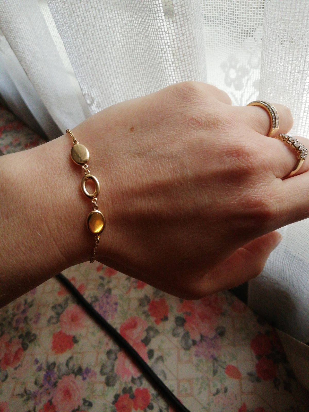 Браслет из жёлтого золота