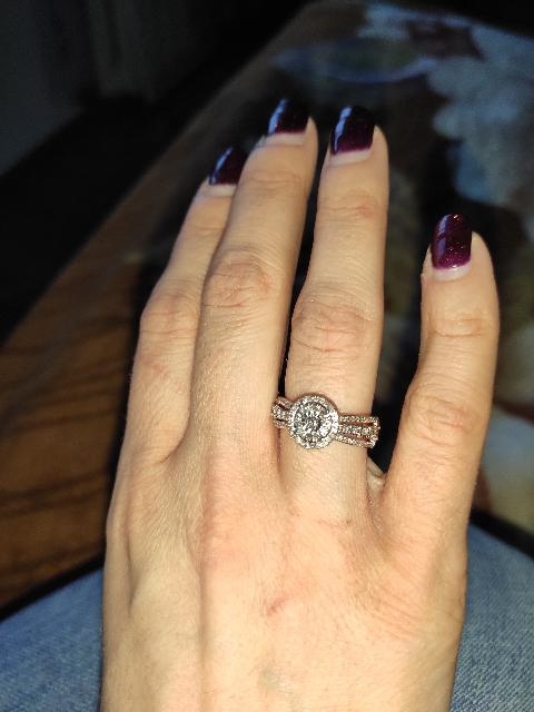 Очень эффектное кольцо!