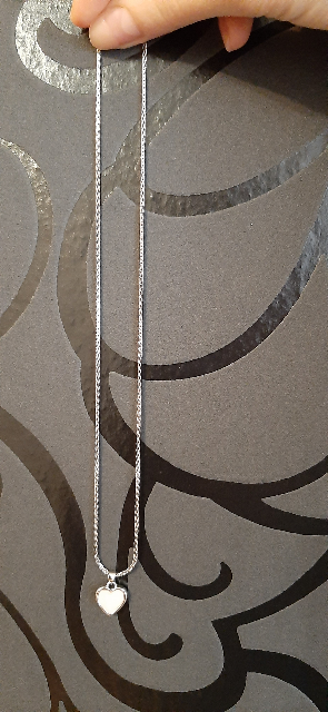 Серебрянная цепочка.
