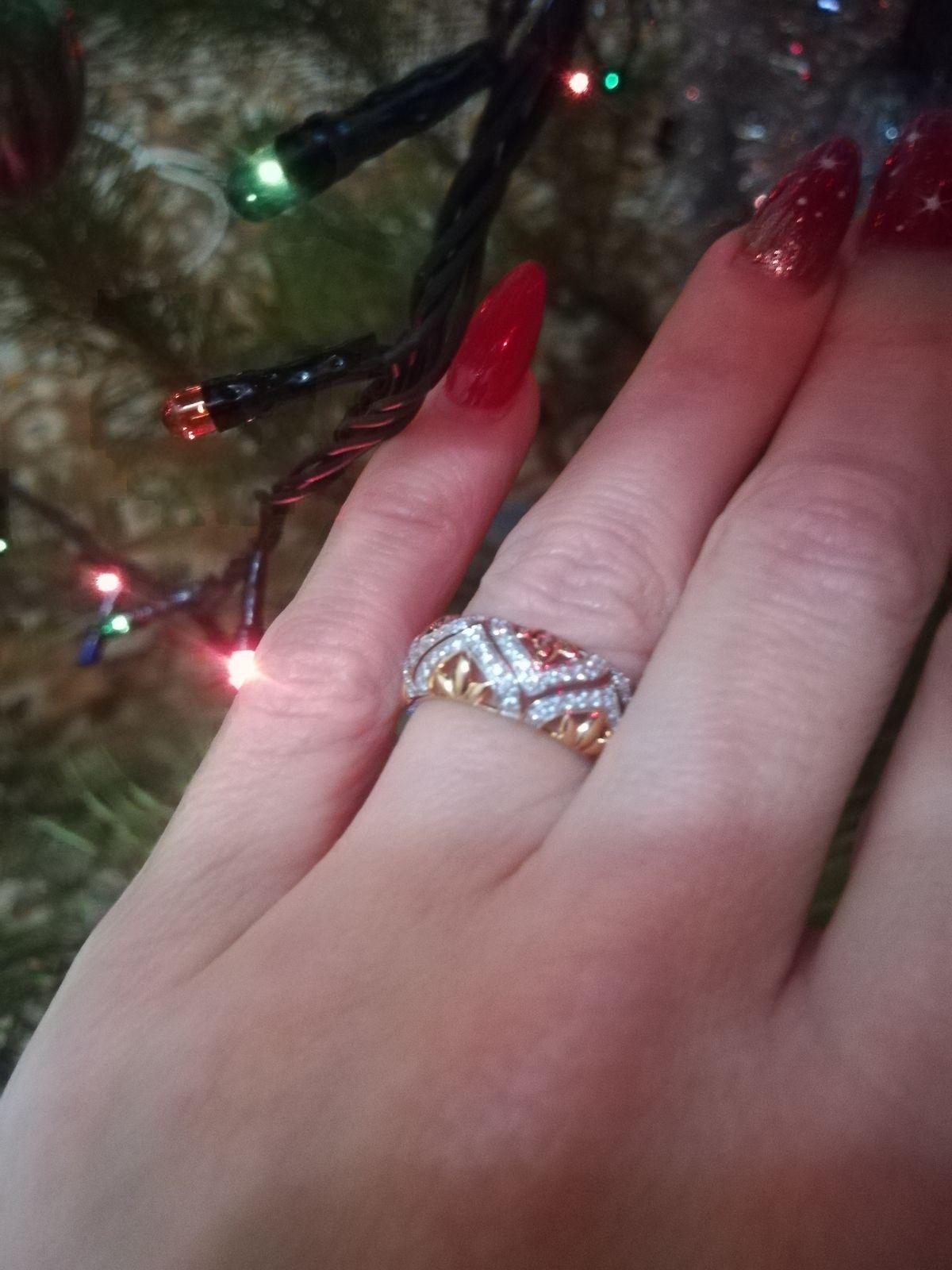Прекрасное золотое кольцо!